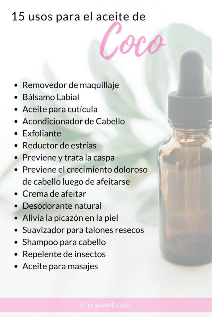 Aceite De Coco Cuidado Natural De La Piel Rutinas De Belleza