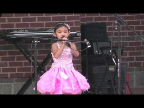 Talented 5 Year Old Wins Singing Competition - Reflection / Part of Your World - Angelica Hale - YouTube