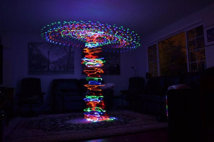 Light room tornado