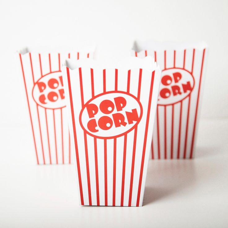 Retro Popcorn Boxes | Carousel