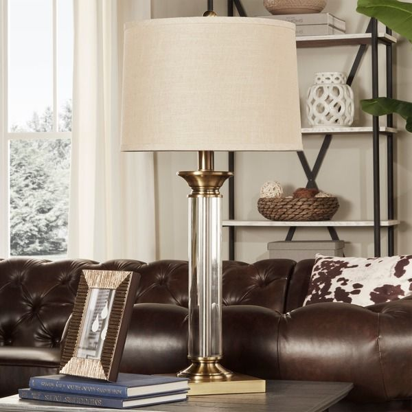 Tribecca Home Mawrly Metal and Accent Table L& & 455 best Letu0027s LIGHT it up! images on Pinterest   Bulbs ... azcodes.com