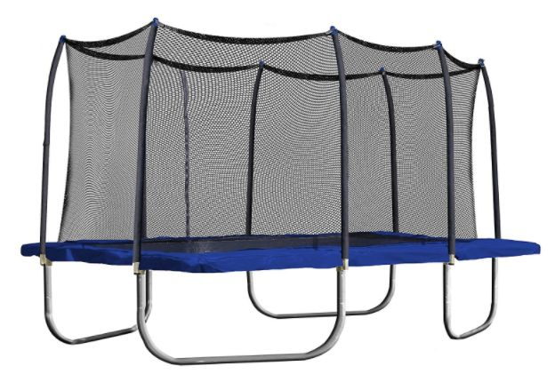 Get this Skywalker Rectangle Trampoline with Enclosure, 15-Feet for just $449.99 shipped!