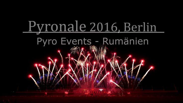 Pyronale 2016 - Pyro Events Rumänien / Romania (Winner)   Firework Show ...