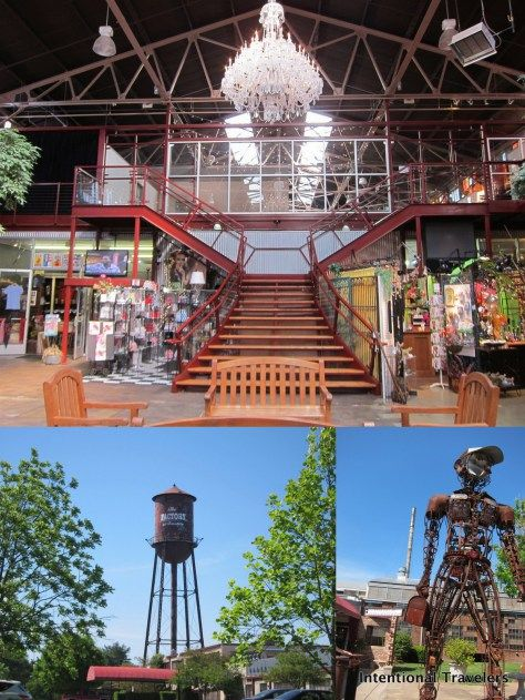 The Factory shops, Franklin, TN | Intentional Travelers
