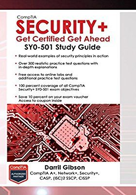 CompTIA Security+ Get Certified Get Ahead: SY0-501 Study