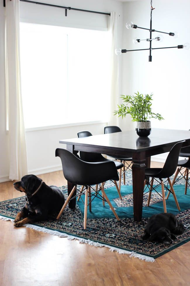 The first update of our modern dining room is done, but there are a ton more plans in the works. Love the minimalist nordic vibes in this room. Come let us know what you think!