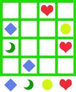 jeu de sudoku 'Grille sudoku simple n° A' pour enfant a imprimer ...