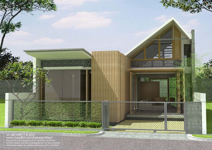 Lomba Desain Rumah Mungil Hijau - Lomba Desain Seri Rumah Ide dan Gramedia Pustaka Utama