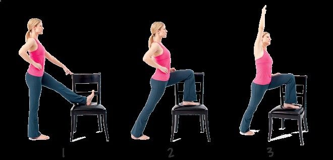 Relieve stiff knees with the Standing Hip Flexor Stretch