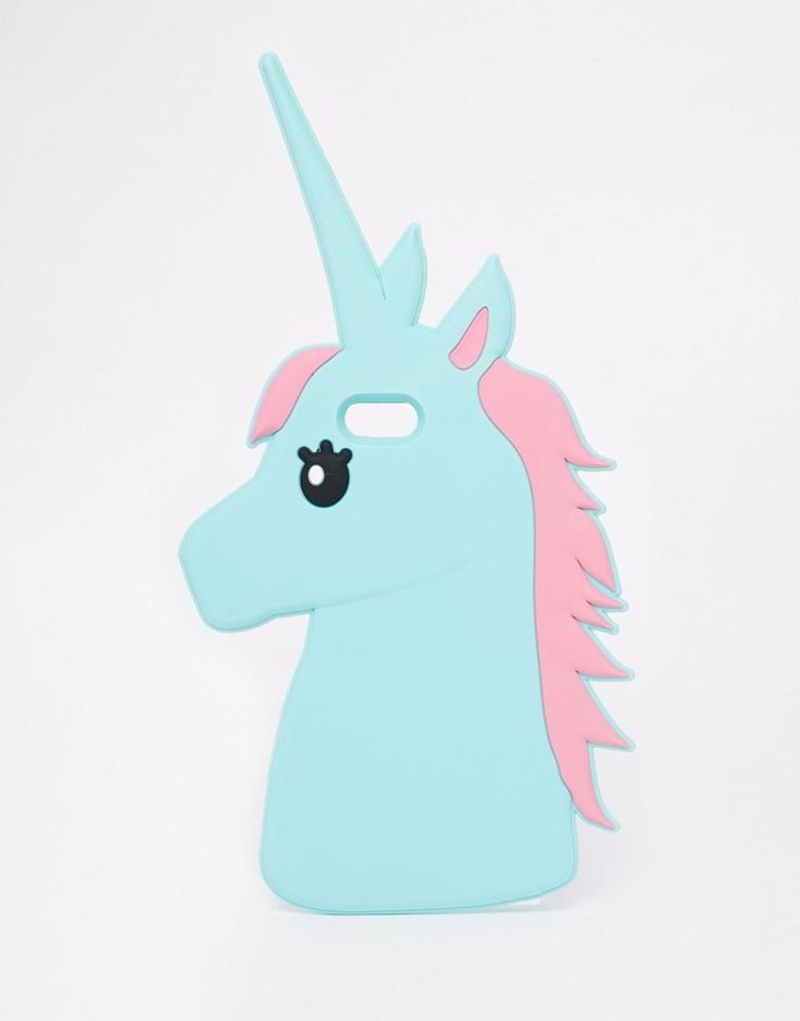 ASOS | Funda de goma para iPhone 5 con unicornio de ASOS en ASOS