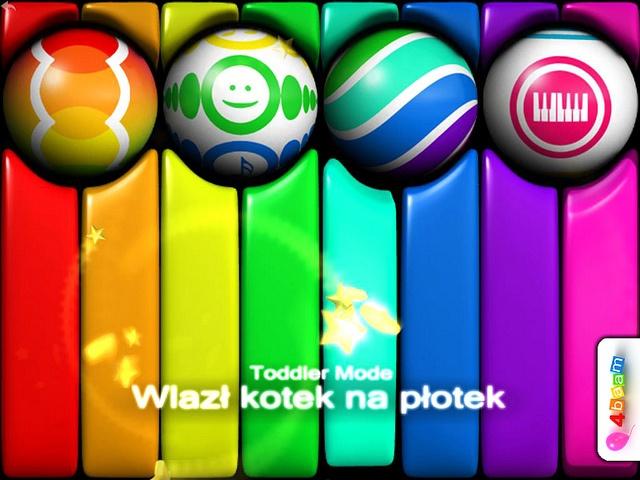 PianoBall - Wlazł kotek na płotek - Polski Akcent :)