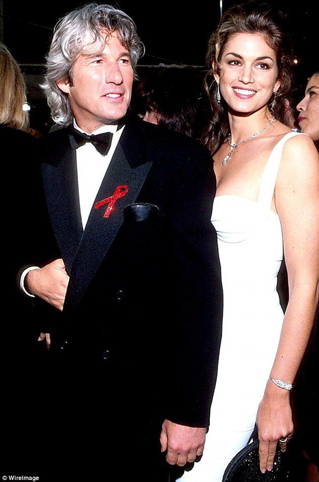 Cindy Crawford admits ex-husband Richard Gere is 'like a stranger' to her | Daily Mail Online