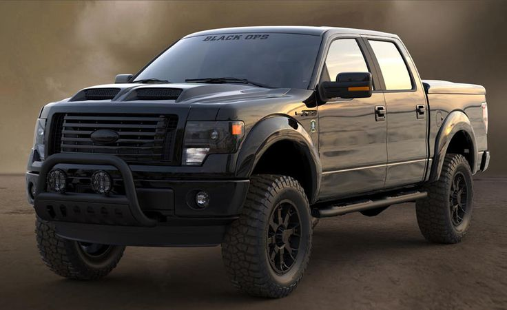 Tuscany Black Ops Frontier Ford Ford Trucks Ford New