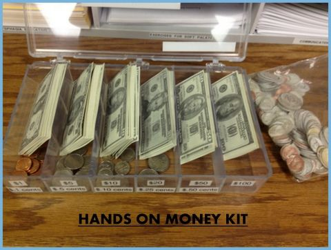 Out of all of my many (many!) personal purchases of therapy materials, I think my Hands on Money Kit by Dysphagia Plus gets used most often. (I found out later there is a cheaper Melissa & Dou...
