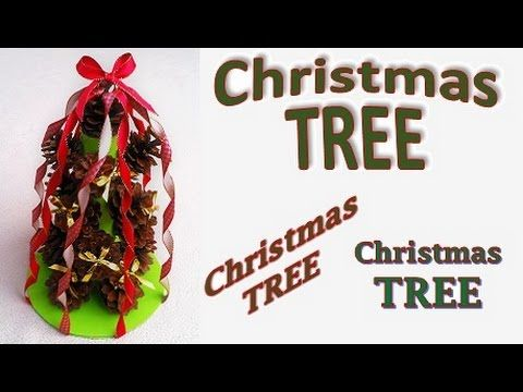 DIY pine cone Christmas TREE