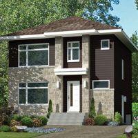 Plano de casa de 100 metos cuadrados – 3 dormitorios – 1 Piso