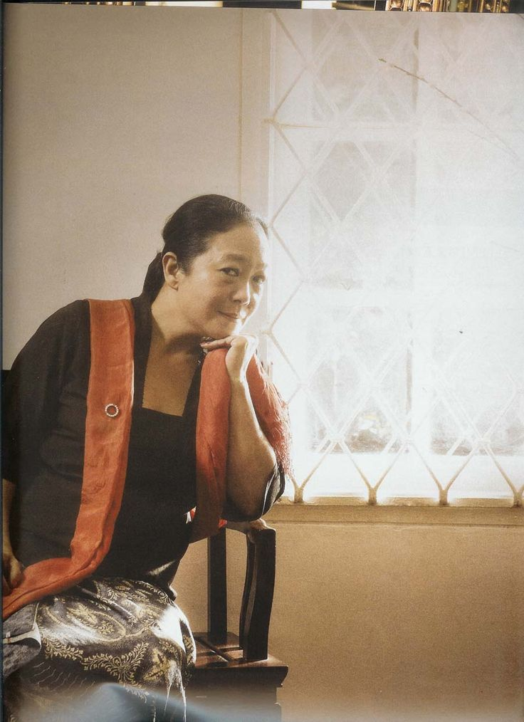 Indonesian textile designer Josephine Werratie Komara, better known as Obin.