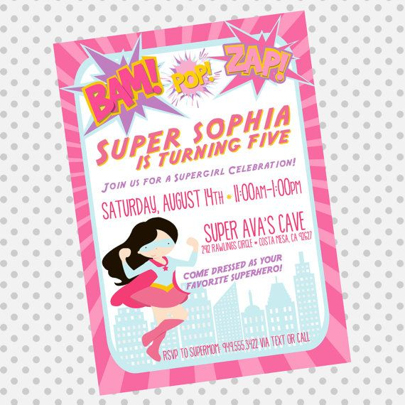 25 best ideas about Girls Party Invitations – Party Invitations for Girls