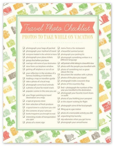 Photo Checklist: Photos Checklist, Photos Ideas, Remember This, Real Life, Travel Photos, Travel Pictures, Check Lists, Travel Tips, Travel Photography