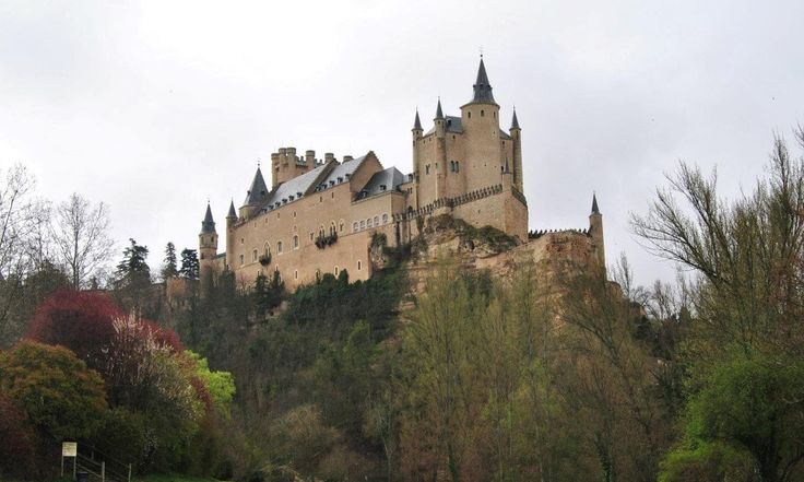 One of the most distinctive castle-palaces in Spain…