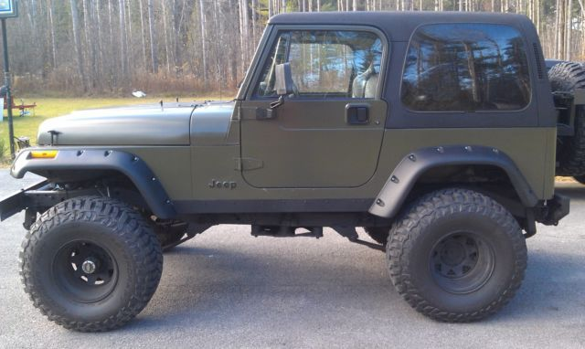 1994 jeep Wrangler YJ Built for sale: photos, technical ...
