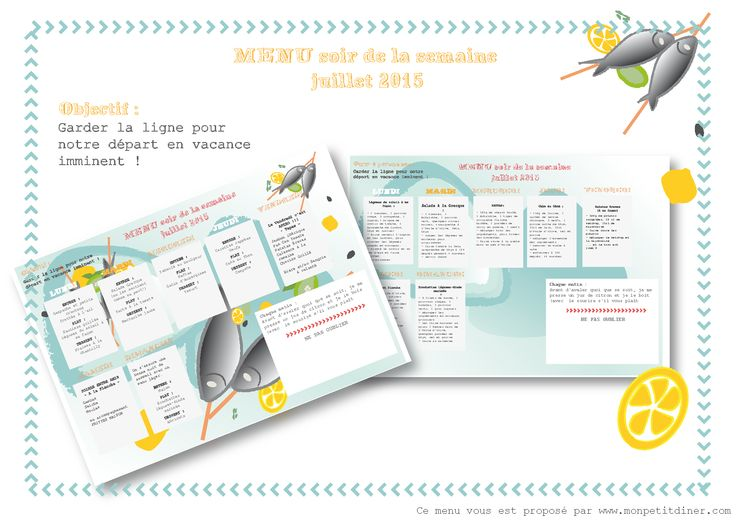 menu à imprimer, recette de cuisine été, healthy, blog, weekly planner, carnet de cuisine, free download, salade, barbecue, marinade, organisation, DIY, printable