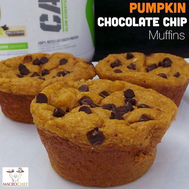 ... pumpkin chocolate chunk muffins recipes dishmaps pumpkin chocolate