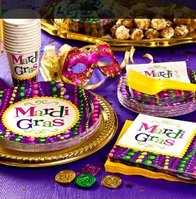Mardi Gras Tableware & 33 best Mardi Gras images on Pinterest | Mardi gras decorations ...