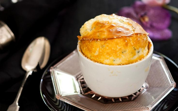 A French classic, this indulgent soufflé can be enjoyed as a main or entrée. Deliciously fluffy and packed full of flavour, this cheesy dish is utterly moorish.