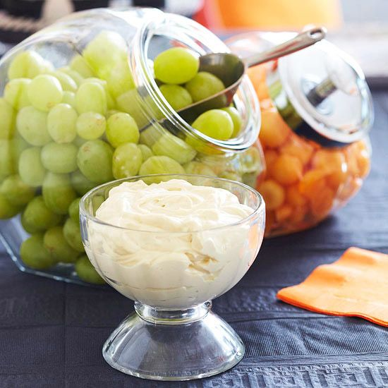 This homemade fruit dip includes only 5 ingredients and 15 minutes of prep. Take this to a potluck or make for an easy bridal shower recipe! Or keep it at your desk to dip healthy strawberries and grapes in for a satisfying and healthy snack.