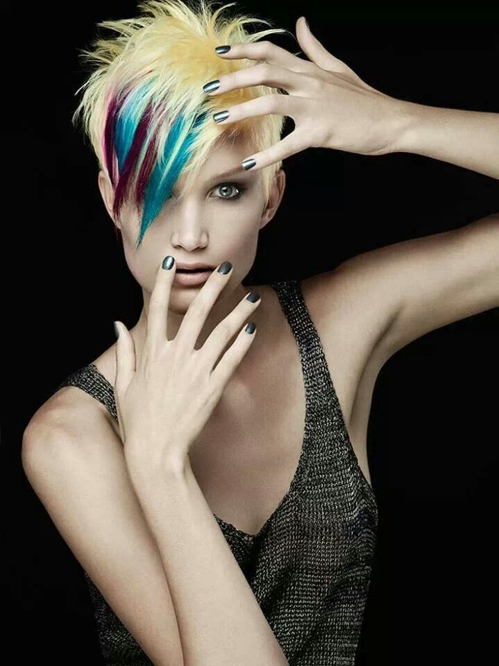 Super 1000 Ideas About Funky Hair Colors On Pinterest Funky Hair Short Hairstyles Gunalazisus