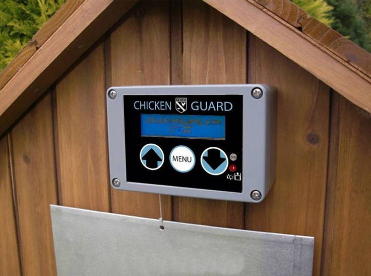 Chickenguard Automatic Chicken Coop Door Opener ASTi Premium - Timer Sensor USA! #Chickenguard
