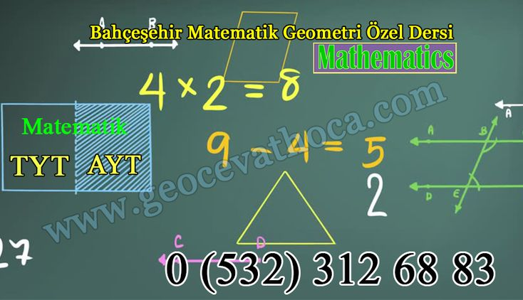 Bahçeşehir Matematik Geometri Özel Ders öğretmeni der ki, öğrencilik yıllarında YKS Matematik Geometri sınavları için başarı; akıl, bilim, tecrübe, tedbir ve düzenli çalışma ile kazanılır. Plansız bir yaşam, akıntıya boşuna kürek çekmek gibidir; Matematik Geometri öğrenmeyi şansa bırakmak, başarı değil, sonu hüsran ile biter.