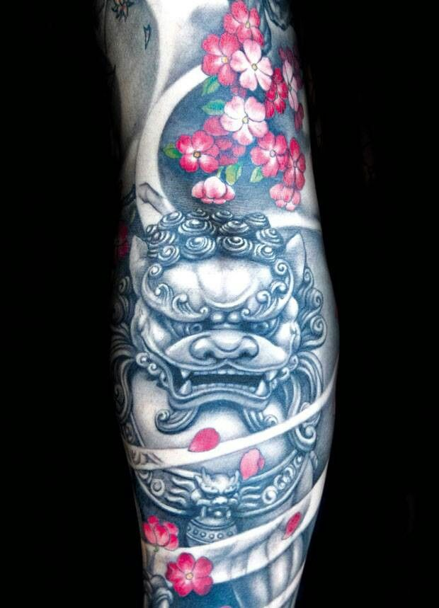 This would look good in adition to my leg