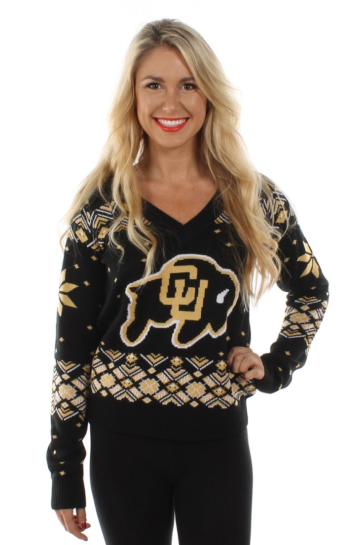 Women's University of Colorado Buffaloes Sweater