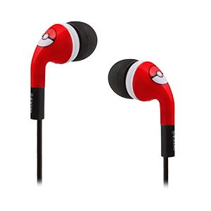 Decorated with little Poké balls, these earbuds come with a total of 3 sets of silicone tips so you can get just the right set to block out the outside world while you're training.