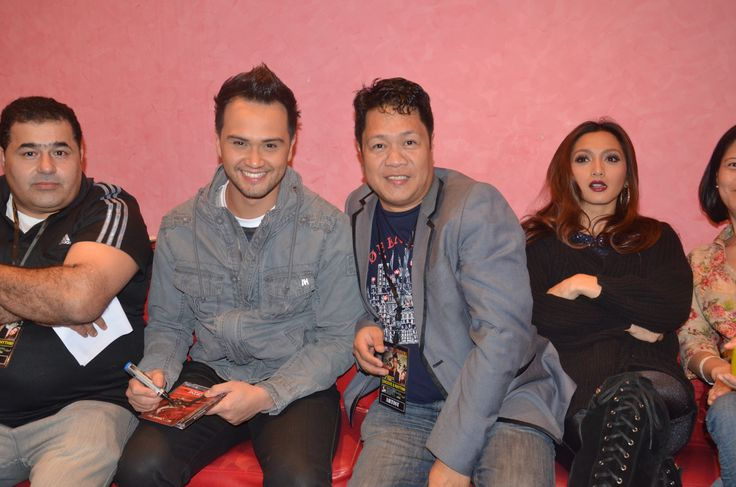 Behind the Scene on Billy Crawford Concert in Dubai