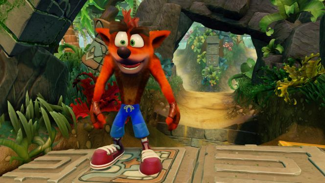 """""""In the Twitter video, among the noise of the crowd, you could hear """"4K on PS4 and PC, at sixty frames per second."""" #crashbandicot https://ps4pro.eu/2009/06/14/crash-bandicoot-n-sane-trilogy-coming-to-pc-as-well/"""