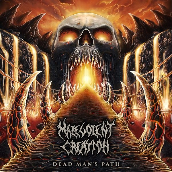 Review: Malevolent Creation - Dead Man's Path (2015) http://www.rockenportada.com/index.php/review-malevolent-creation-dead-mans-path-2015/10/2015