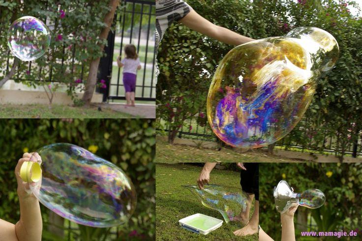 Seifenblasen selbermachen