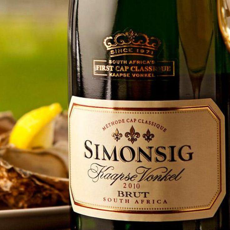 Wine tasting at Simonsig Wine Estate