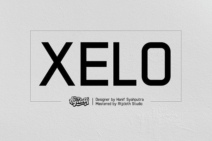 Xelo from FontBundles.net