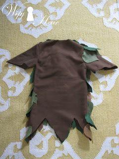 Wispy House: DIY Peter Pan Costume -  Idea for a felt troll costume