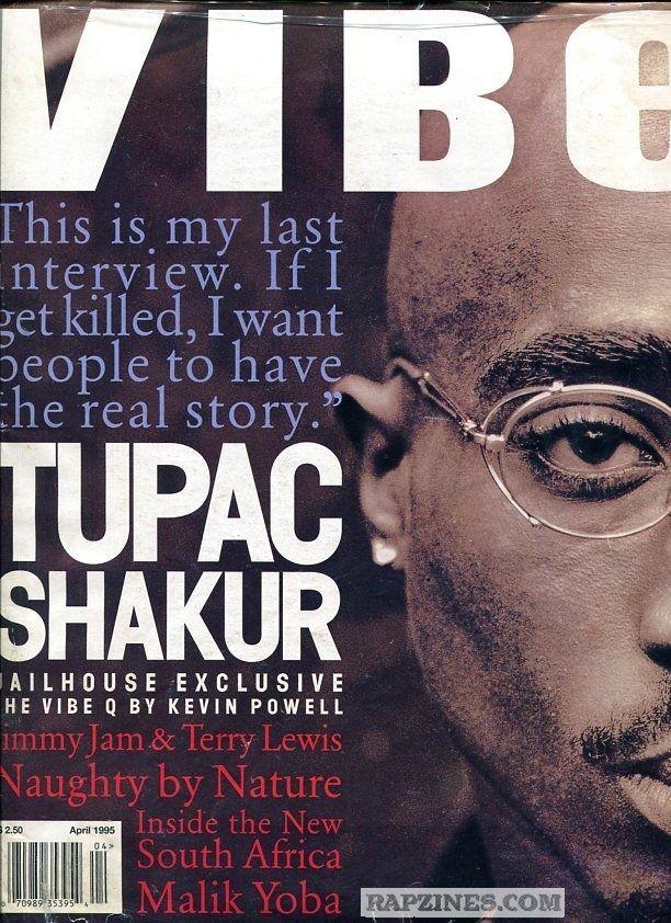 Tupac Shakur (April 1995)