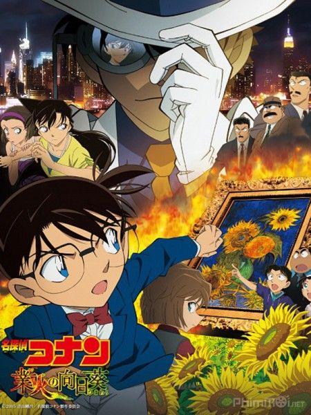 Phim Conan  Movie19: Hoa Hướng Dương Rực Lửa