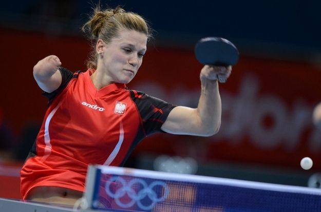Meet Poland's One-Armed Olympic Table Tennis Player