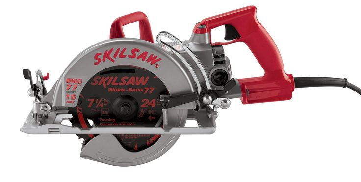 SKIL SHD77M 15 Amp 7-1/4-Inch Mag Worm Drive SKILSAW Circular Saw. The Skil SHD77M has-increased Performance - 15 amps. The Skil SHD77M has an Upgraded Motor - High Temp Wire. The Skil SHD77M comes with a 24-tooth carbide blade. The Skil SHD77M has a Two Position Saw Hook. The Skil SHD77M is Two-pounds Lighter.