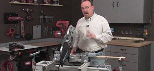 How to Use a miter saw with Skil & Lowe's « Tools & Equipment