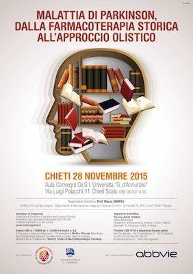 Malattia di Parkinson il 28 novembre convegno a Chieti