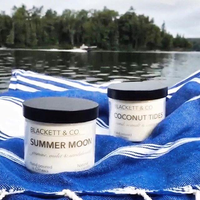 BLACKETT & CO. Summer Moon, Coconut Tides